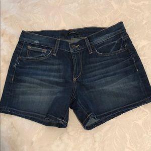 Dark Wash Joe's Jean Shorts